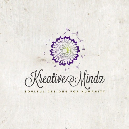 Creative logo for a Shop of Original designs for the body, soul & home, handcrafted with love.