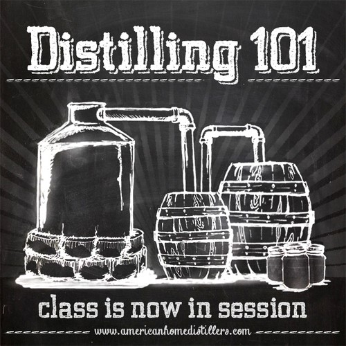 Runner up for Distilling 101 Class is now in session