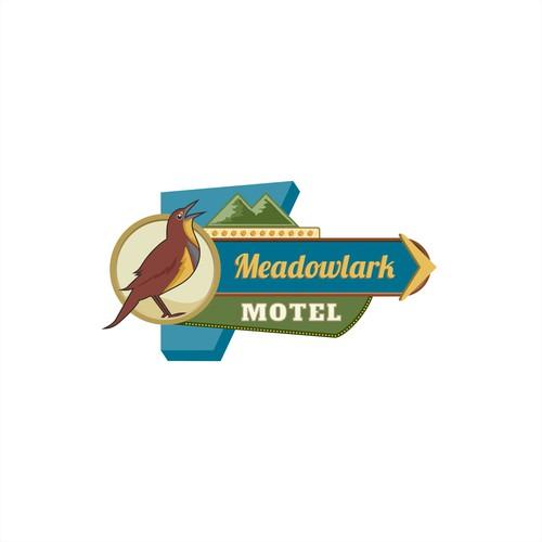 American Classic - Meadowlark Motel Logo