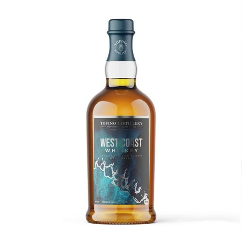 Westcoast Whiskey label