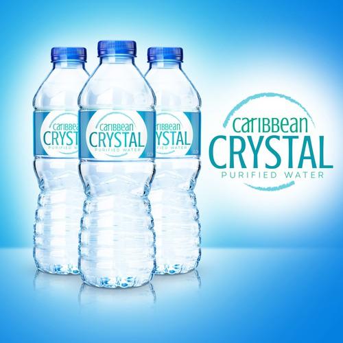 Logo for bottled water