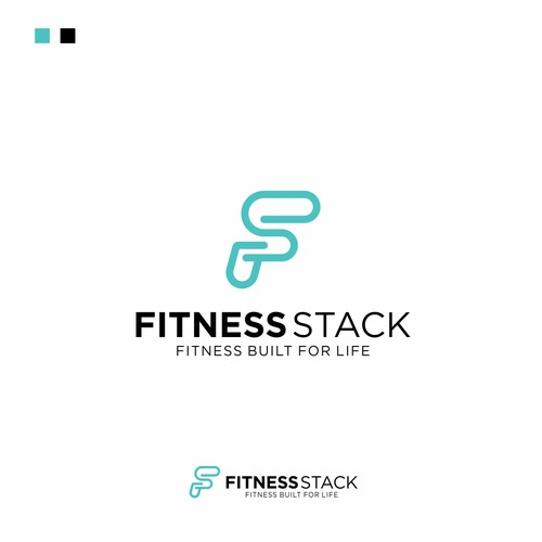 FITNESS STACK Logo Design