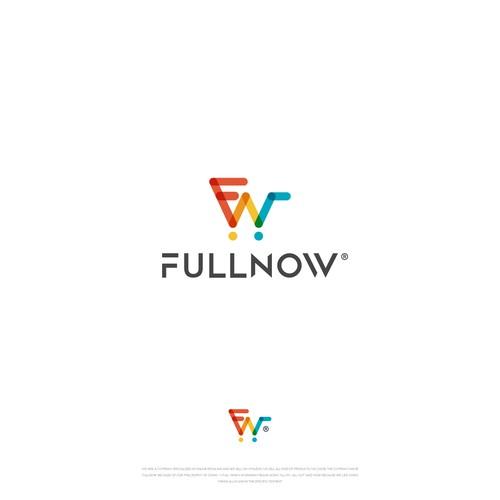 FullNow logo design