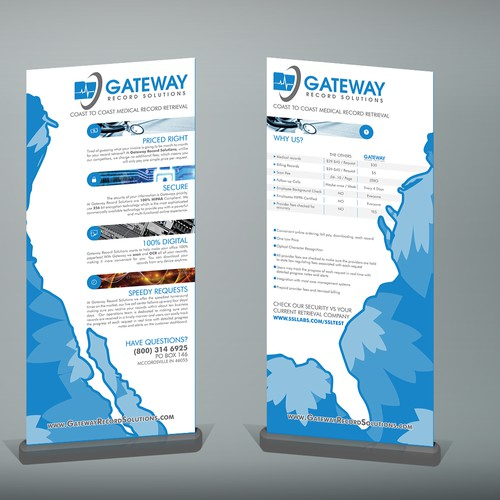 Eye catching Trade show banner design