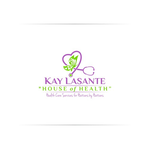 Cute logo for a health care clinic in Haiti