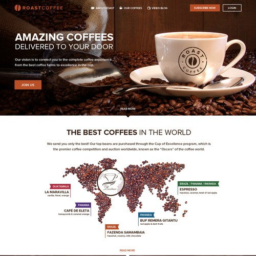 Coffee Company Website