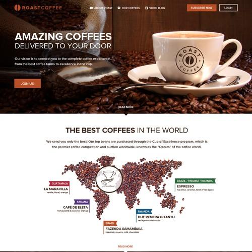Coffee Company Website