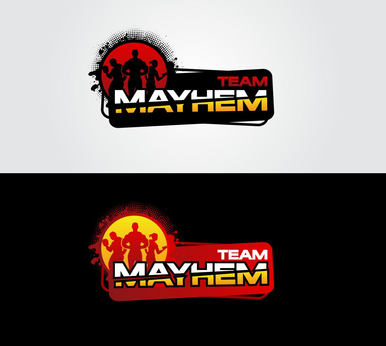 Help Team Challenge Mayhem  or Team Mayhem with a new logo