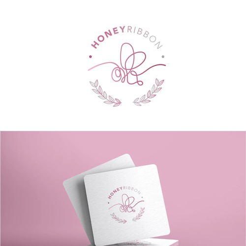 Honey Ribbon Logo
