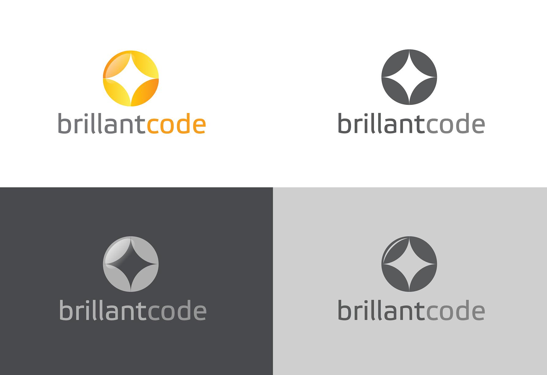 Crear el/la siguiente logo para Brillant Code S.A.P.I de S.A.