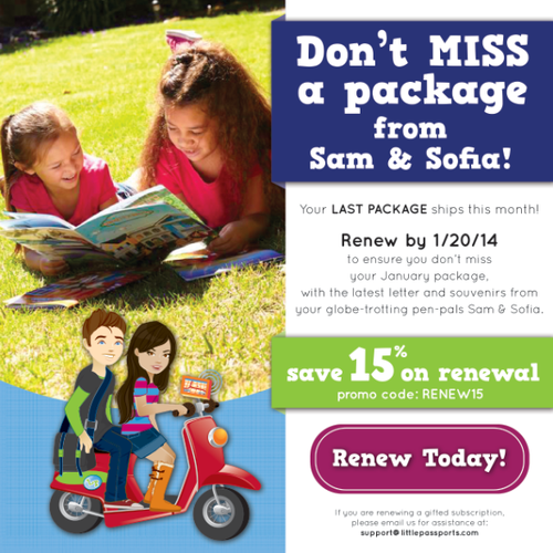 Banner Ad for Little Passports