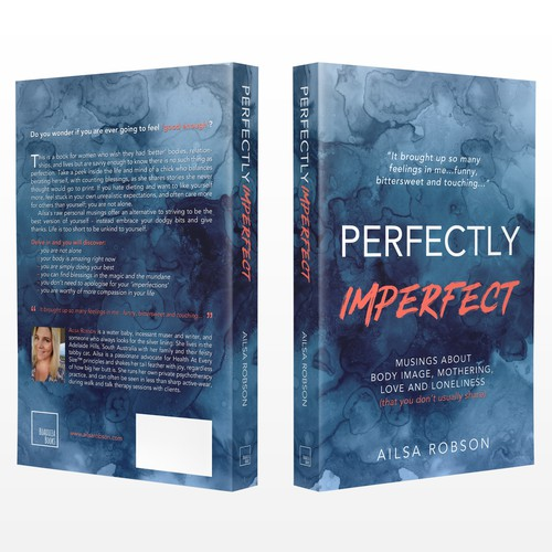 Create a striking, perfectly imperfect, book cover design!