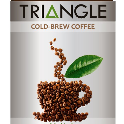 Create a label design for the best new cold-brew coffee!