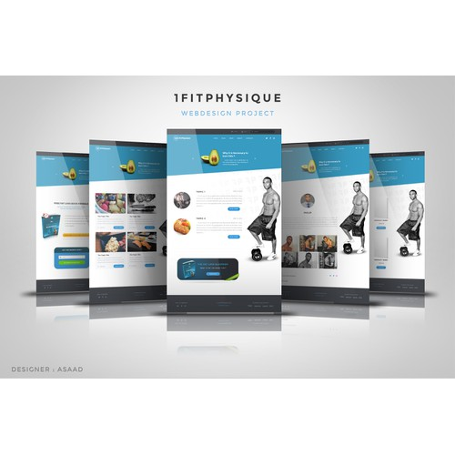 1fitphysique Wordpress Template