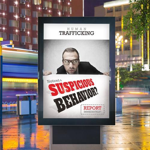 Human Trafficking Poster Design