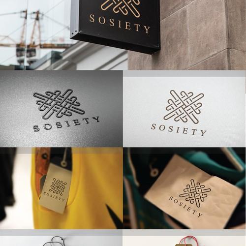 Concept logo sosiety