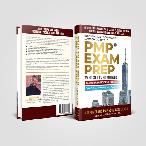 PMP Book Cover with strong character