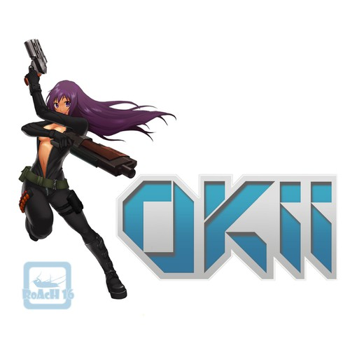 OKII Guns- Anime logo needed!