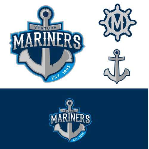 Design the crest for a youth ice hockey club (Ventura Mariners)