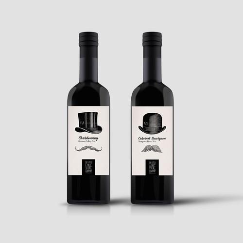 Little Wine Bottle Label