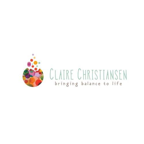 Logo design for a massage therapist/ yoga teacher
