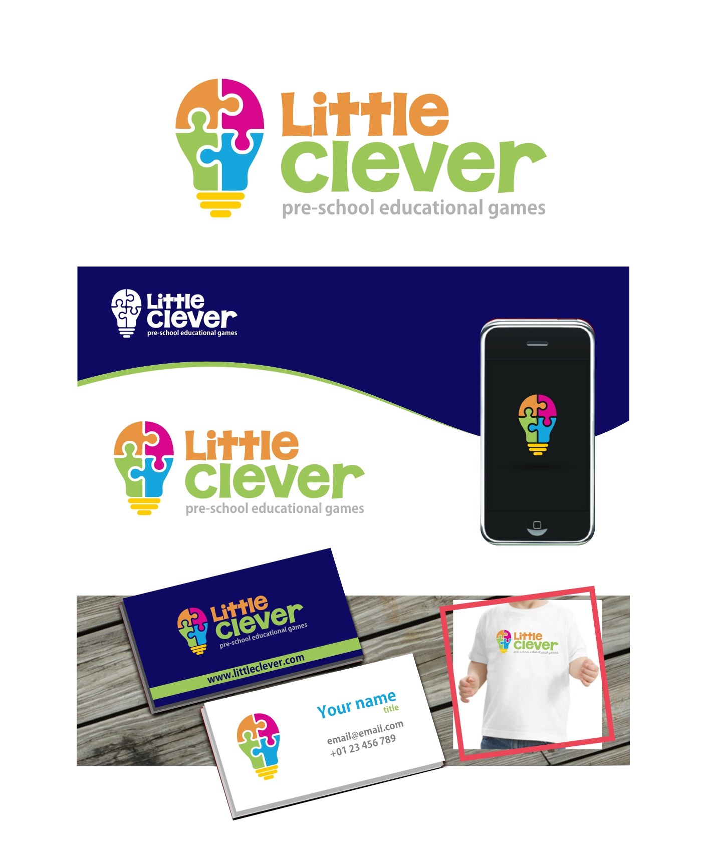 Create a playful logo for toddlers educational apps