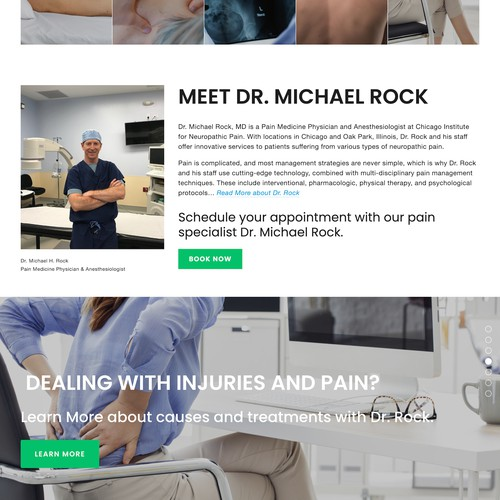 Custom Medical Practice Website with Many Integrations