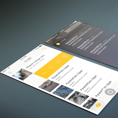 Create the App Design for New Face of Smart Security!