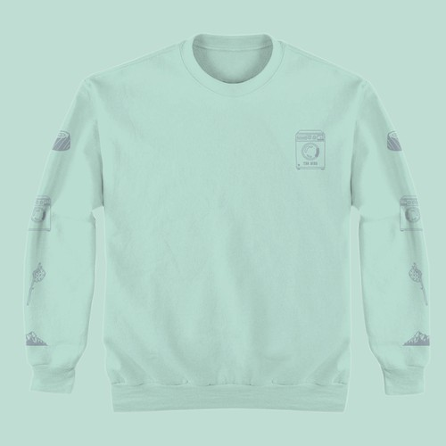 Long Sleeve Mute Design for The Bins