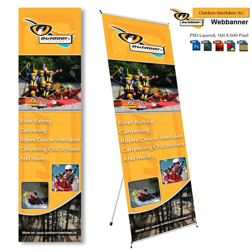 Help Outdoor Interlaken AG with a new banner ad