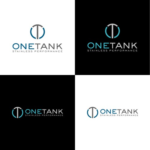Strong logo for ONETANK - stainless performance