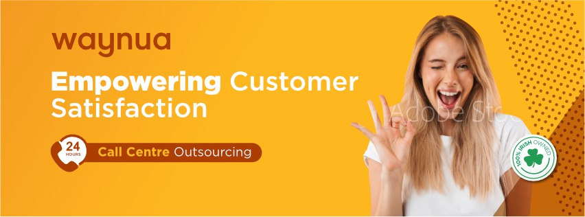 Social Media Banner for Call Outsourcing Company