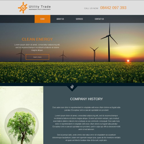 Website for Utility Trade