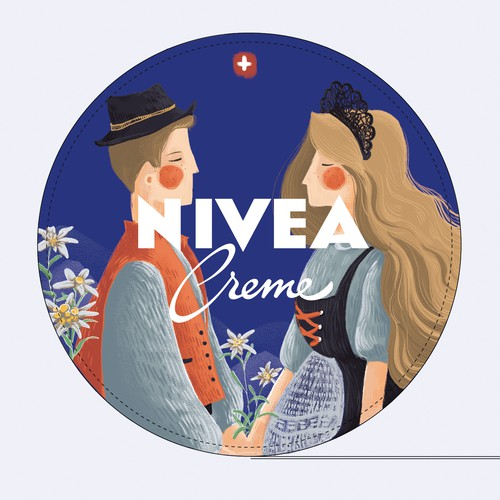 NIVEA Creme Swiss Anniversary Edition packaging