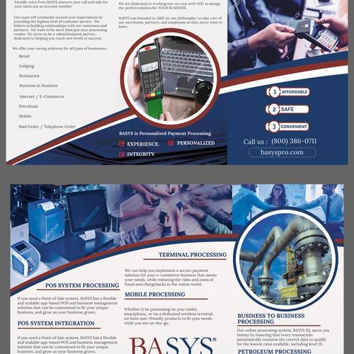 brochure design for BASYS