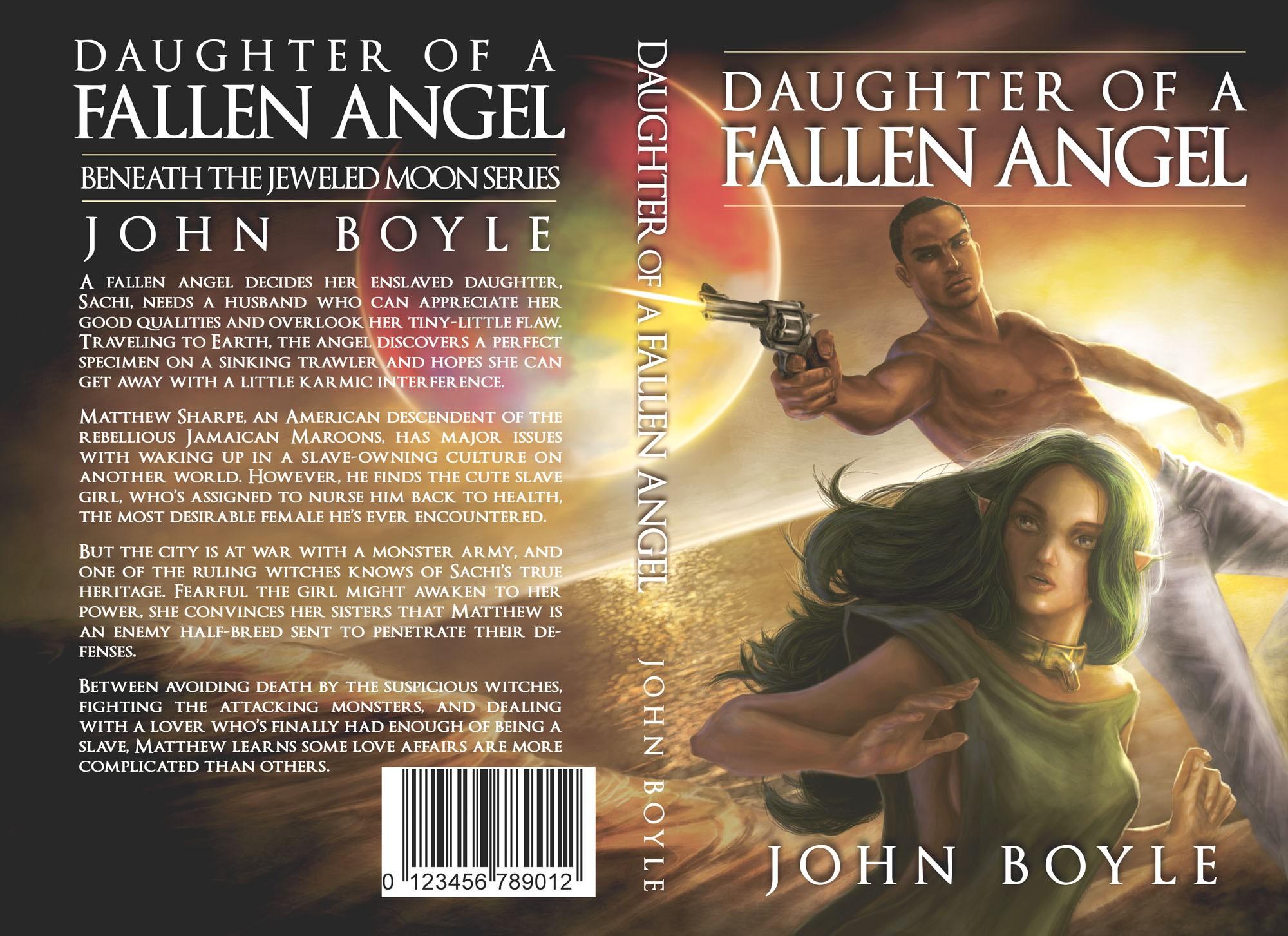 Cover for Adult Fantasy novel.