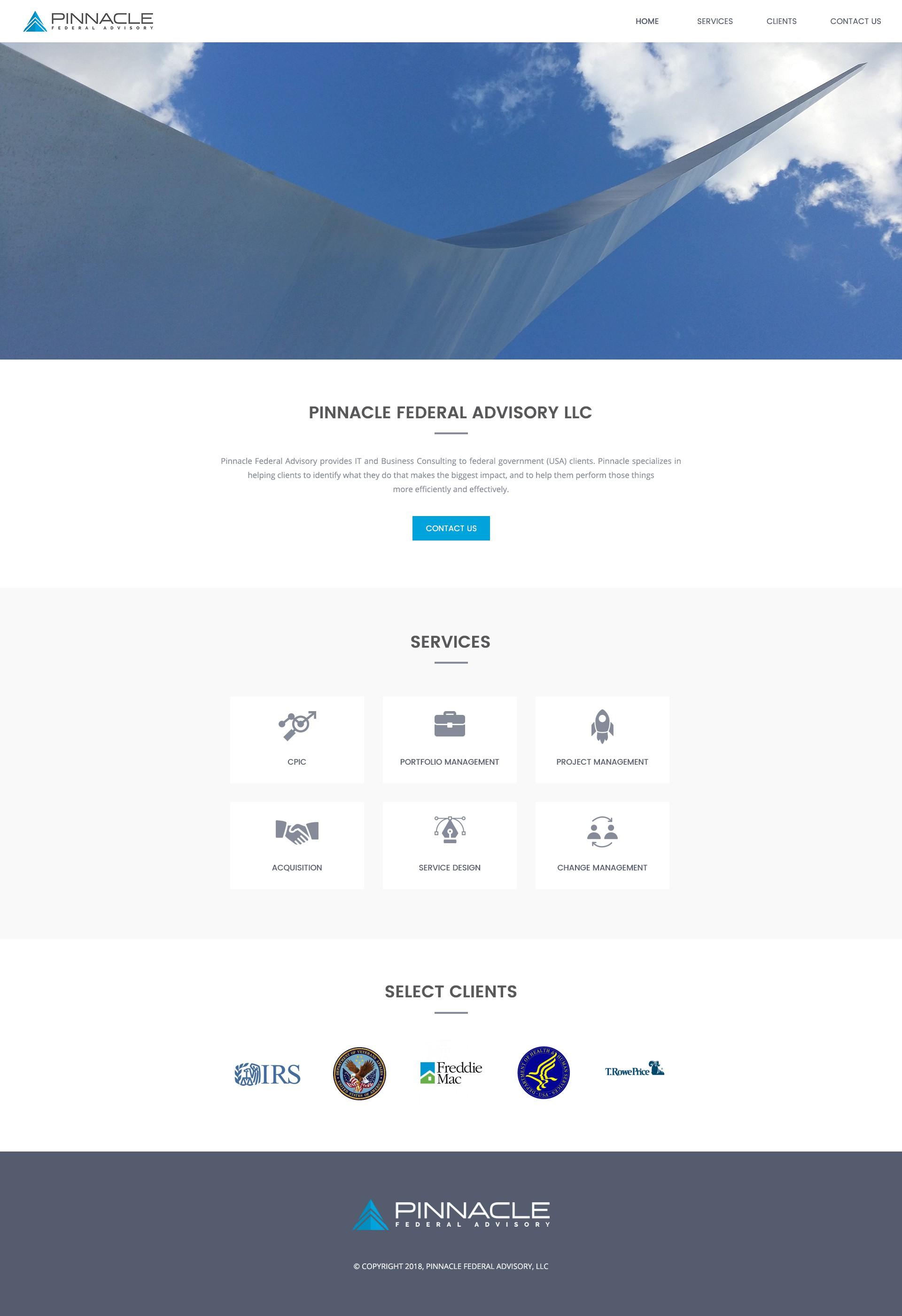 WordPress-based website and hosting