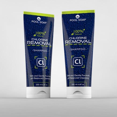 Eye-cathing shampoo design