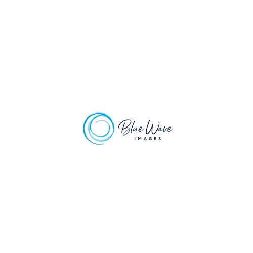 Blue Wave Images Logo design