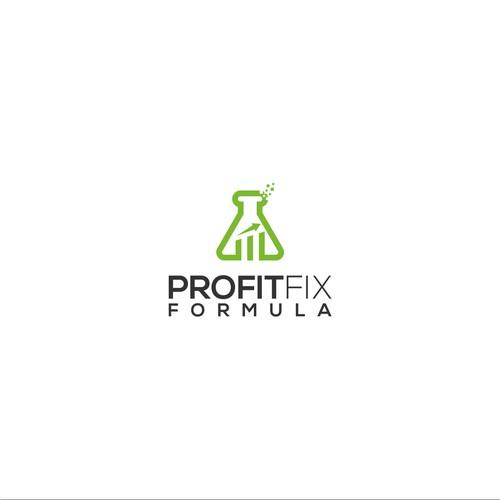 Professional, modern logo concept for Profit Fix Formula