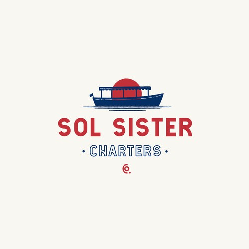 Logo concept for Sol Sister Charters