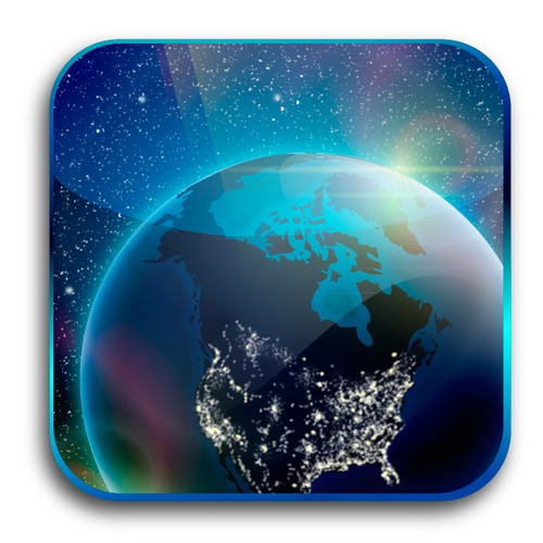 Design the iOS App Icon for Dark Sky Finder