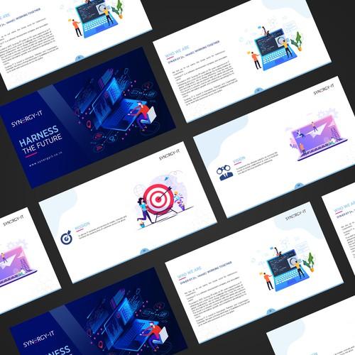 It company PDF brochure