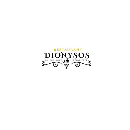 Logo design for Greek Restaurant