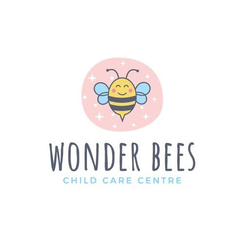 Logo for child care center
