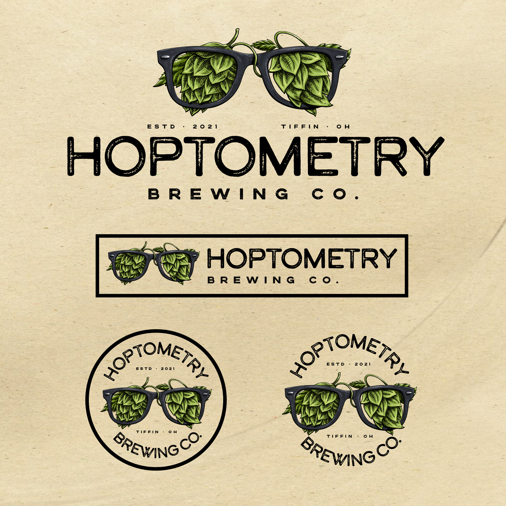 Brewery logo for Hoptometry Brewing