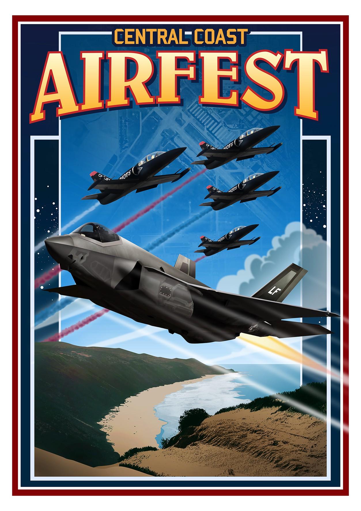Central Coast AirFest 2020 Event Poster Artwork