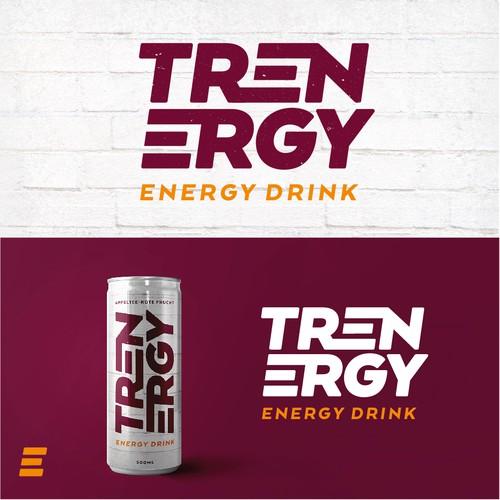 Logo für einen Energydrink