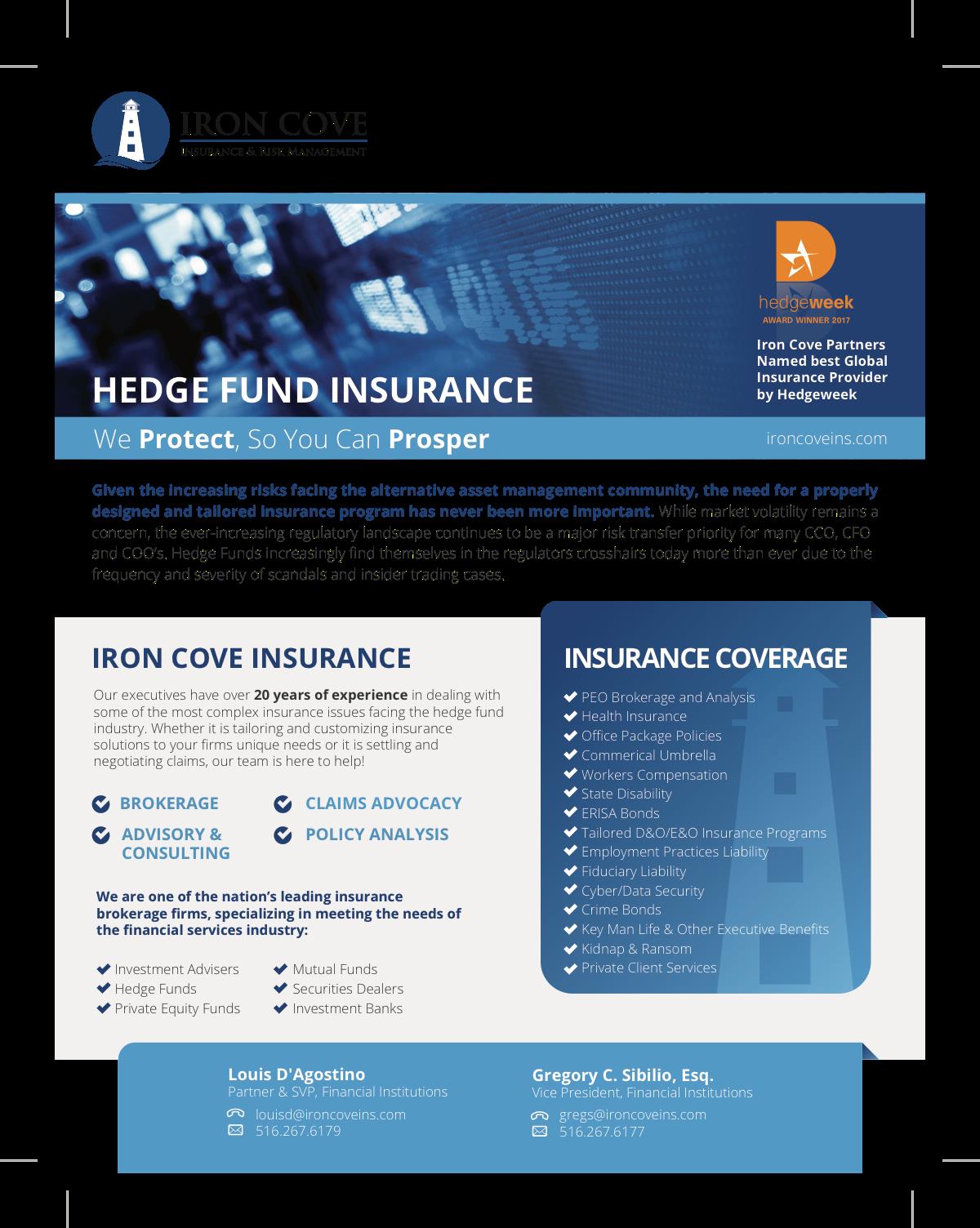 Hedge Fund Brochure Add-On
