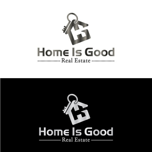 home is good logo